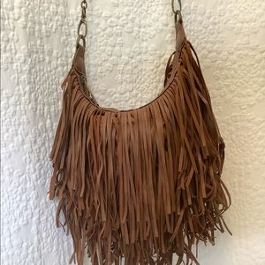 STEVE MADDEN Brown Hippie Tassel Purse or Tote